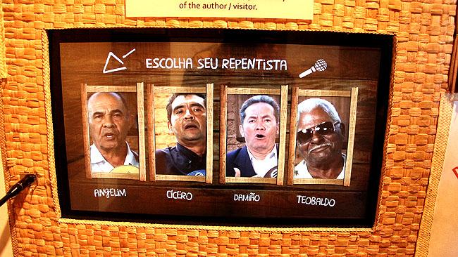 Museu da Gente Sergipana Aracaju - Repentistas