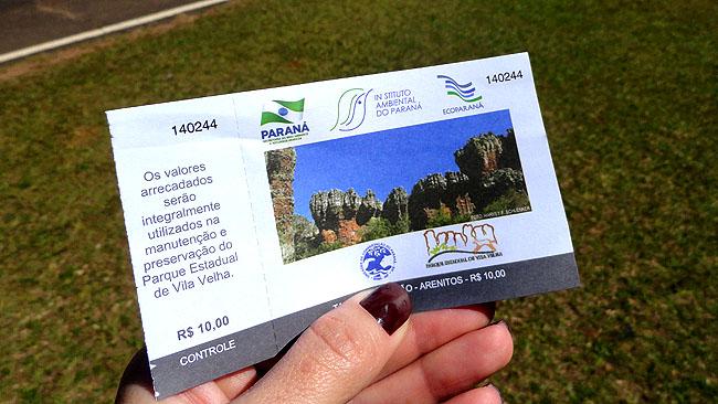 Parque Estadual Vila Velha Parana Como Chegar 2