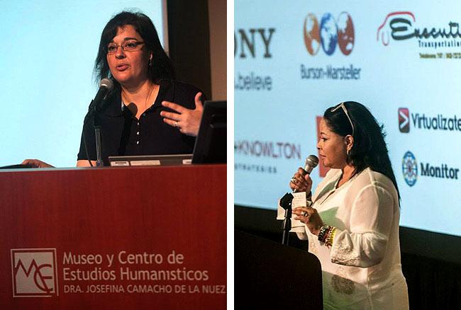 Sarar Lora e Maria Fernanda Price