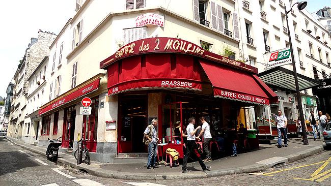 Cafe Amelie Poulain Paris - Como chegar - Les Deus Moulin