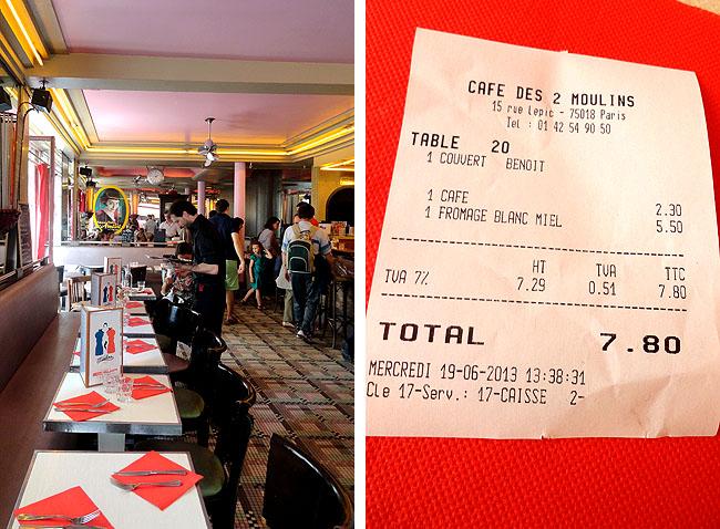 Cafe Amelie Poulain Paris - Montamartre - Localizacao - Les Deus Moulin