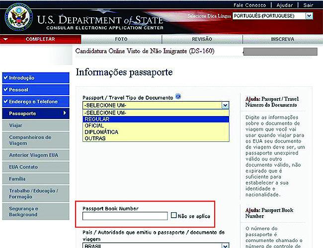 Como tirar o visto americano - Consulado
