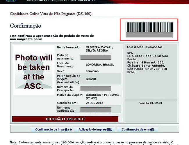 Como tirar o visto americano - Formulario DS 160 passo a passo