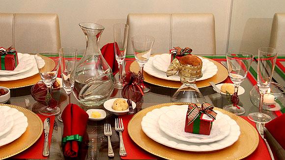 Decoracao Mesa Natal Barata Dicas 03