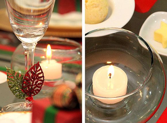 Decoracao Mesa Natal Barata Dicas velas