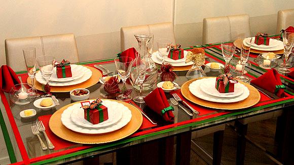 Decoracao  Mesa Natal Dicas