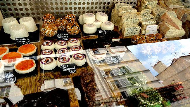 Le fromagerie Lepic Montmartre Paris - Queijos