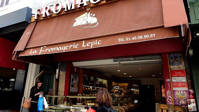 Le fromagerie Lepic Montmartre Paris