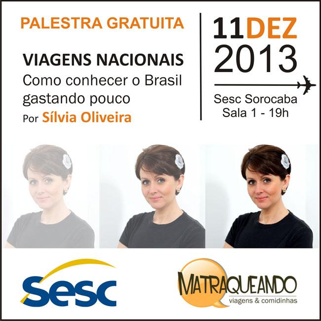 Palestra Silvia Oliveira - SESC Sorocaba