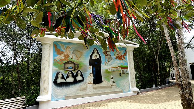 Santuario Santa Paulina Nova Trento SC - Parque Colina 1
