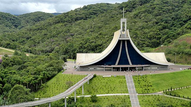 Santuario Santa Paulina Nova Trento SC - Vista Aerea 2
