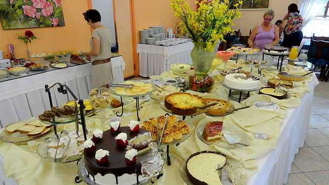 Cafe Colonial Wegner Brusque Santa Catarina - Doces