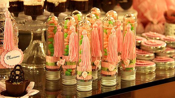 Festa Bailarina dicas decoracao tubetes
