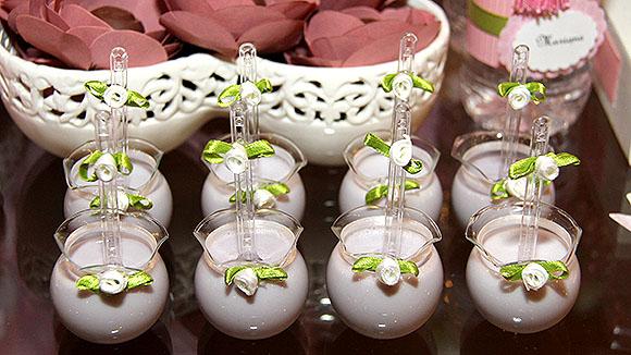 Festa Bailarina mesa de doces petit verre