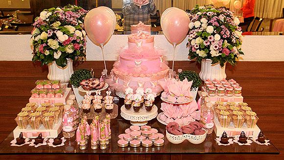 Festa Bailarina mesa de doces