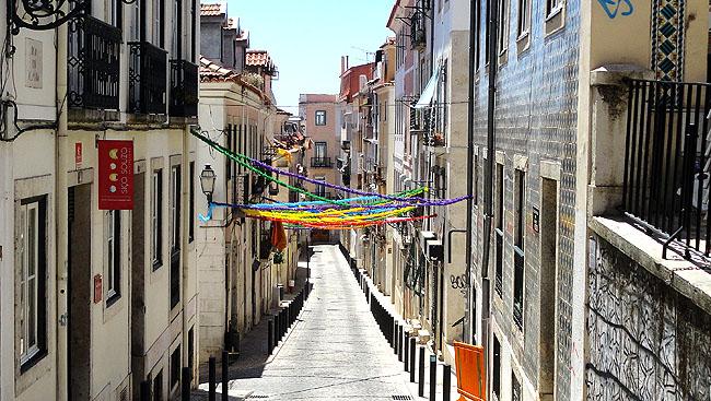 Lisboa bairro a bairro Bairro Alto Santo Antonio