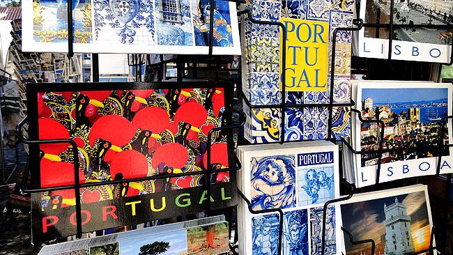 Lisboa bairro a bairro Baixa Cartao Postal