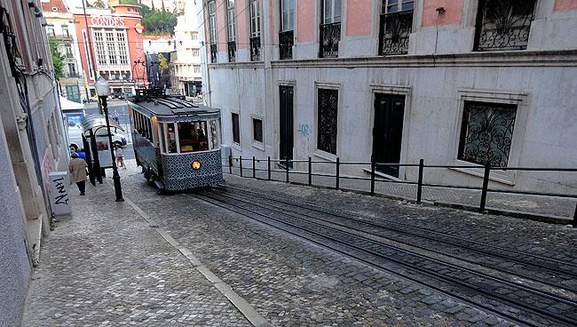 Lisboa bairro a bairro Baixa Elevador da Gloria