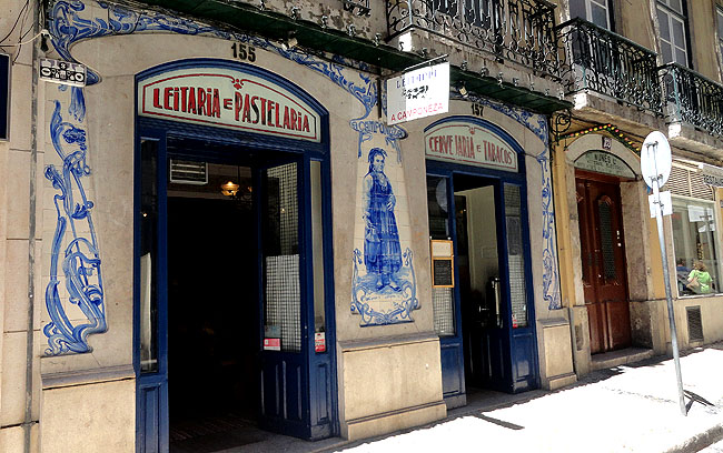 Lisboa bairro a bairro Baixa Pastelaria