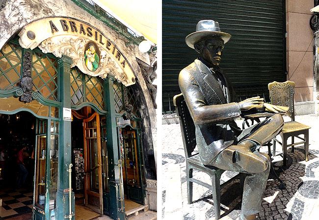 Lisboa bairro a bairro Chiado Cafe a Brasileira