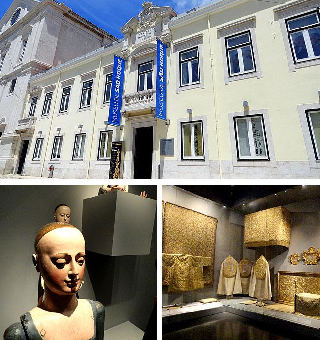 Lisboa bairro a bairro Chiado Museu Sao Roque Acervo