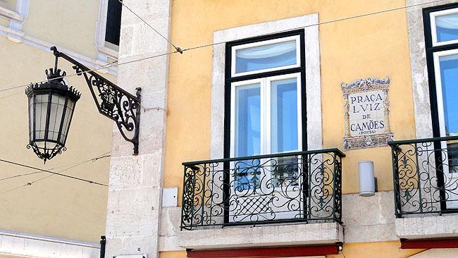 Lisboa bairro a bairro Praca Luis de Camoes