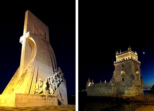 Lisboa bairro a bairro Torre de Belem e Padrao dos Descobrimentos