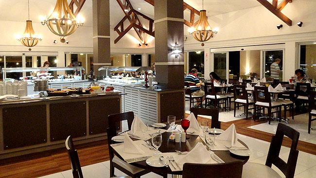 Iguassu Resort Hospedagem perto das Cataratas Foz Restaurante