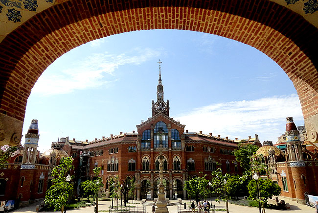 Hospital Saint Pau Barcelona Arco