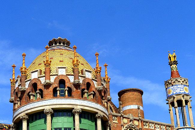 Hospital Saint Pau Barcelona Detalhes teto