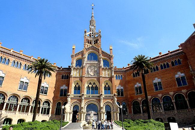 Hospital Saint Pau Barcelona Fachada