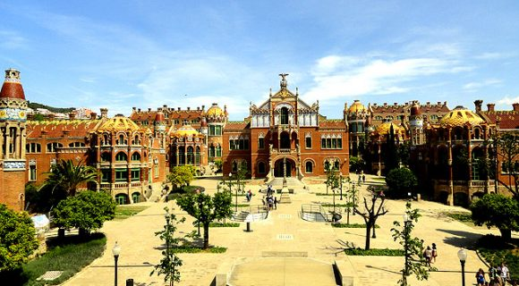 Hospital de la Santa Creu i Sant Pau: o atrativo modernista da vez em Barcelona