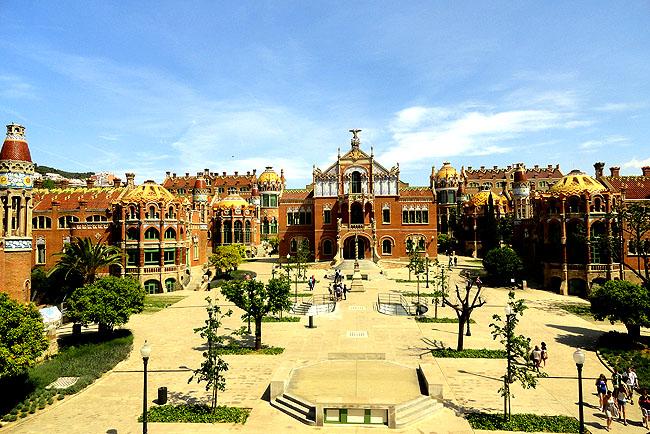 Hospital Saint Pau Barcelona Vista Aerea