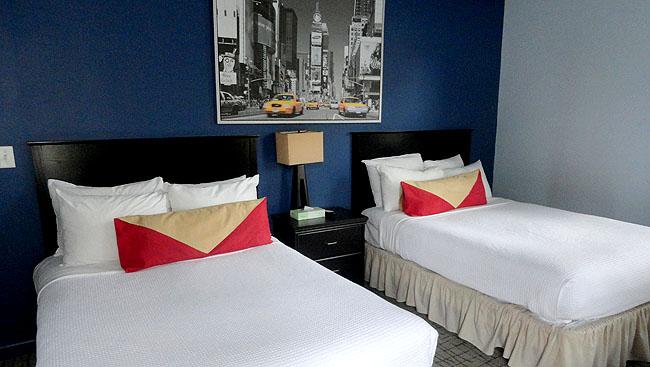 Hotel bom e barato em Nova York Broadway Hotel Quarto Casal