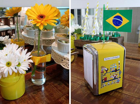 Dicas de decoracao copa do mundo porta guardanapo vintage