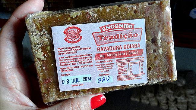 Engenhos de Rapadura Ceara CE 040 Rapadura de goiaba
