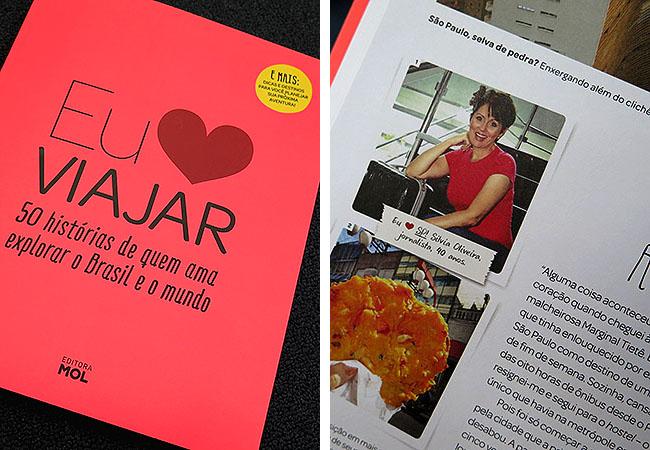Livro Eu Amo Viajar Silvia Oliveira Travel Blogger Matraqueando
