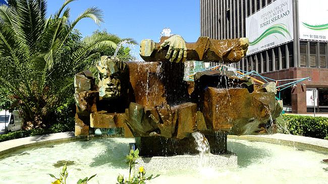 Bairro Salamanca escultura
