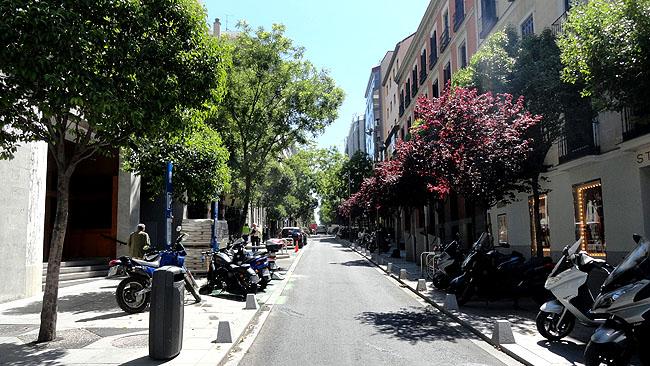 Bairro Salamanca ruas