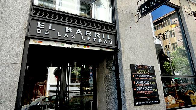 Barrio de las Letras Madri