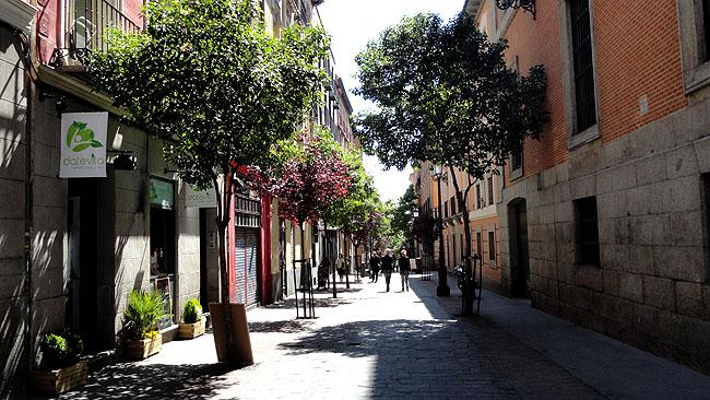Barrio de las Letras Madri  Calle de las  Huertas
