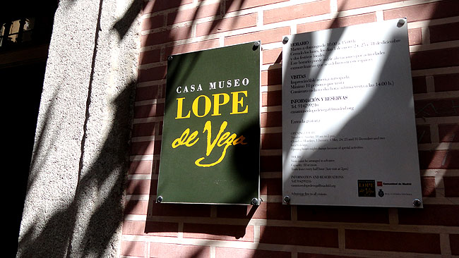 Barrio de las Letras Madri  Casa Lope de Vega