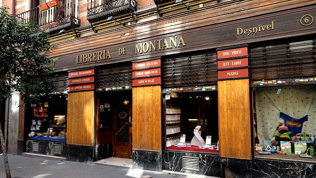 Barrio de las Letras Madri  Libreria Desnivel