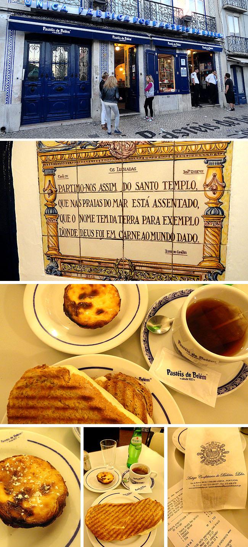 Fabrica Pasteis de Belem Onde comer bem e barato Lisboa Portugal