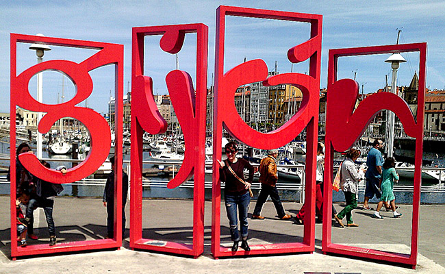 Gijon Letras Puerto Deportivo