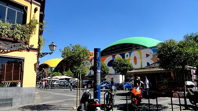 La Latina Madri Mercado de Cebada