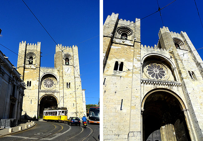 Lisboa bairro a bairro Alfama Catedral da Se