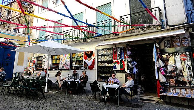 Lisboa bairro a bairro Alfama Onde Comer