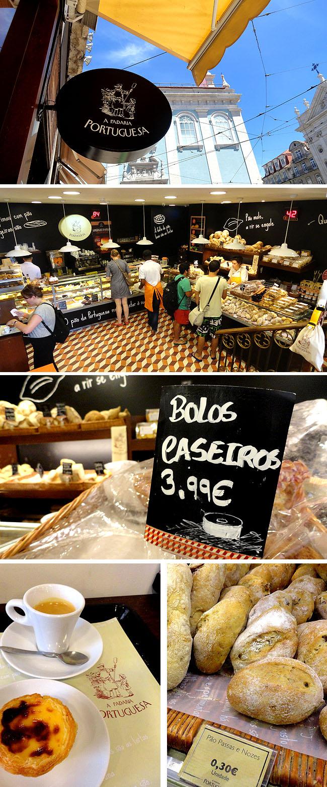 Padaria A Portuguesa Localizacao Onde comer bem e barato Lisboa