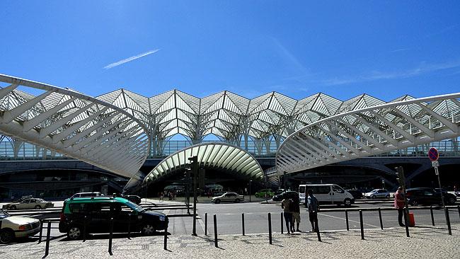Parque das Nacoes Lisboa Gare Oriente Santiago Calatrava
